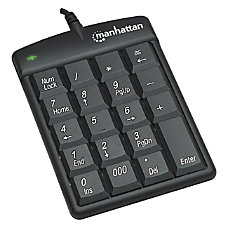 Manhattan USB Numeric Keypad with 18