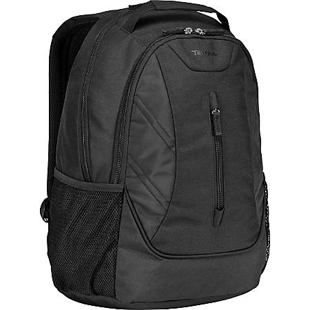 """Targus Ascend TSB710US Carrying Case (Backpack) for 16"""" Notebook - Black - Weather Resistant - Polyester - Handle, Shoulder Strap - 18.8"""" Height x 13"""" Width x 7.5"""" Depth"""