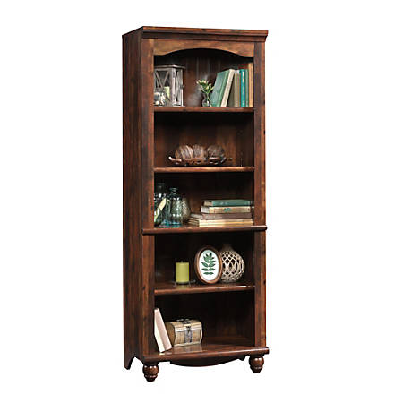 Sauder® Harbor View 5-Shelf Bookcase, Curado Cherry