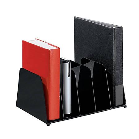 "Office Depot® Brand Sort-A-File™, 13 7/8""H x 9 15/16""W x 13 1/2""D, Black"