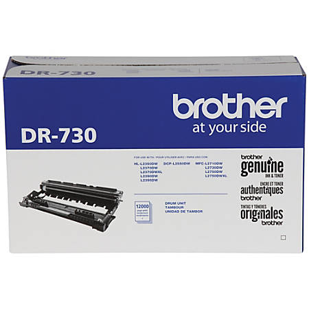 Brother® Black Drum Unit, DR730