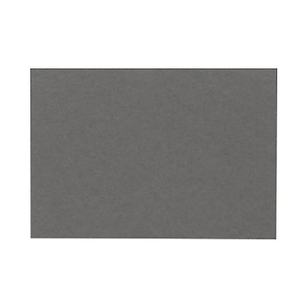 "LUX Flat Cards, A9, 5 1/2"" x 8 1/2"", Smoke Gray, Pack Of 1,000"