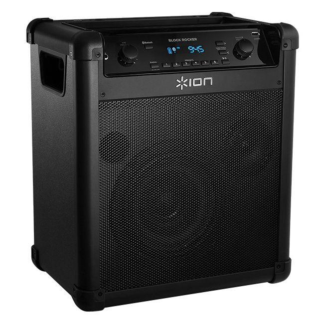 ION Block Rocker iPA76A Speaker System Wireless Speakers Portable