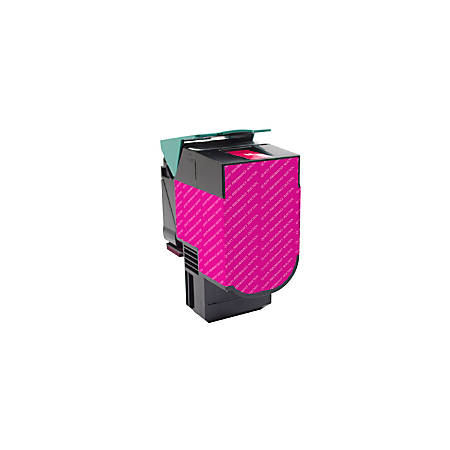 Clover Imaging Group 201068 (Lexmark™ 80C1HM0) High-Yield Remanufactured Magenta Toner Cartridge