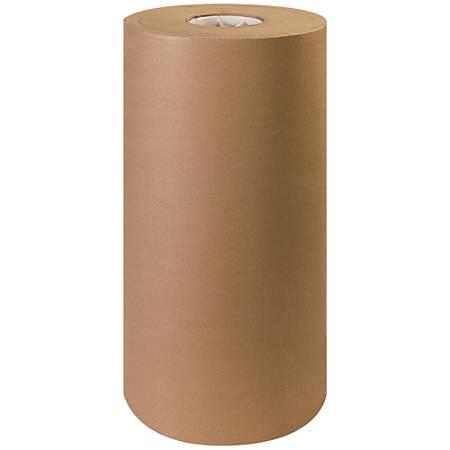 """Office Depot® Brand Unbleached Butcher Paper Roll, 18"""", Kraft"""