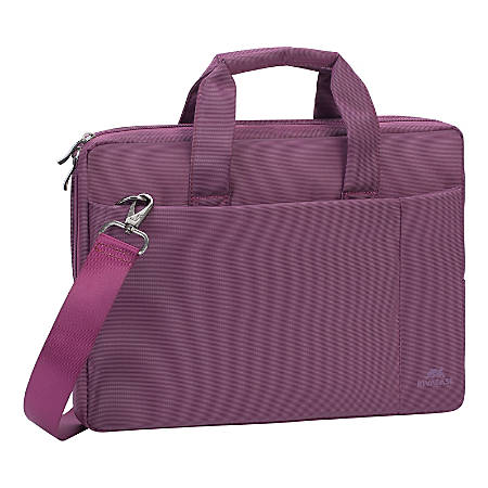 "Rivacase 8221 Laptop Bag With 13.3"" Laptop Pocket, Purple"