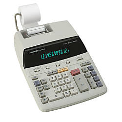 Sharp EL 2192RII Printing Calculator