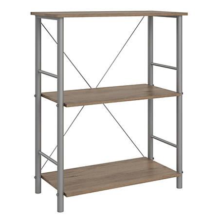 Ameriwood™ Home Garrett 3-Shelf Bookcase, Rustic Oak