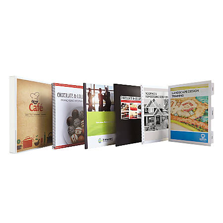 custom tape bound books by office depot officemax