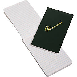 Memorandum Books 3 12 x 6