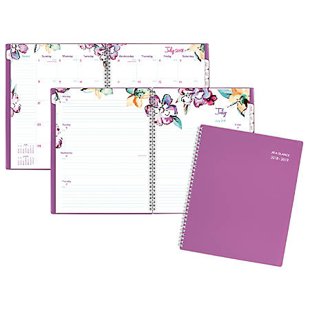 at a glance june weeklymonthly academic planner 8 12 x 11 30percent