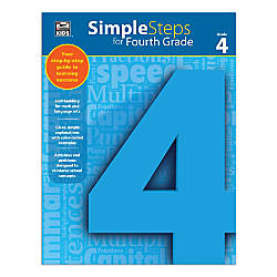 Thinking Kids Simple Steps Grade 4