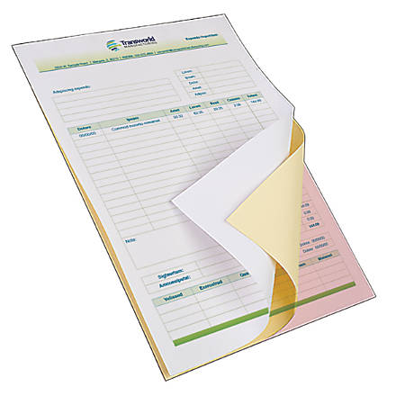 Carbonless Forms By Office Depot OfficeMax - Carbonless invoices