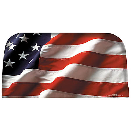 Integrity By California Color Decorative Folding Chair Cover, Patriotic USA Pride, Pack Of 12