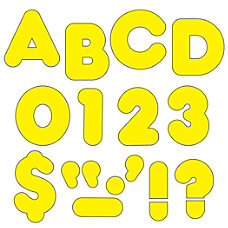 TREND Ready Letters 2 Casual LettersNumbers
