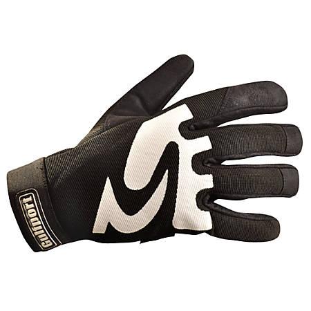 Gulfport Mechanic's Gloves, Black, X-Large