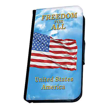 California Color Integrity Case For Apple® iPhone® 5, Patriotic USA Print, Pack Of 6