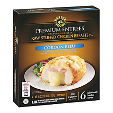 Barber Foods Premium Entr e Raw