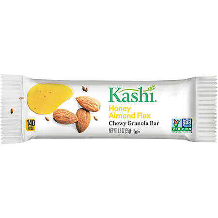 Kashi&reg Honey Almond Flax Chewy Granola Bar - Honey, Almond - 12 / Box