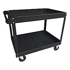Lorell 2 Shelf Utility Cart 16