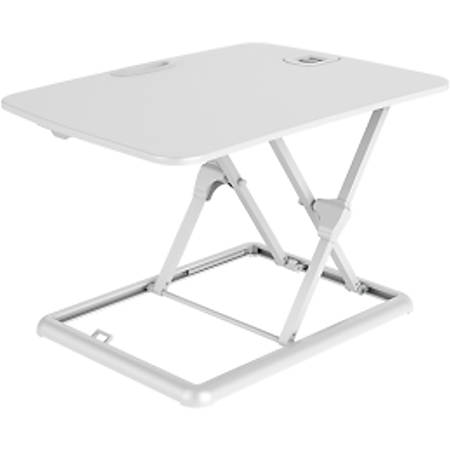 FlexiSpot GoRiser Sit-To-Stand Laptop Riser, White