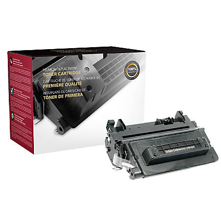 Clover Imaging Group 200621P Remanufactured High-Yield Toner Cartridge Replacement For HP 90J Black
