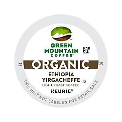 Green Mountain Coffee Organic Ethiopia Yirgacheffe