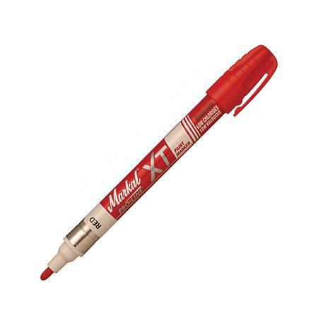 Markal PRO-LINE XT Paint Marker, Medium Bullet Point, Red