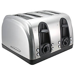 Brentwood 4 Slice Toaster Extra Funtions