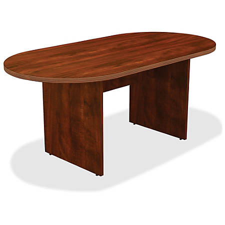 Lorell Chateau Series Oval Conference Table W Cherry By Office - Office max conference table