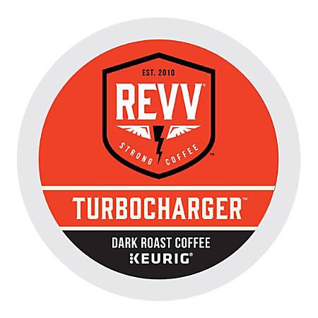 REVV Turbocharger K-Cup® Pods, 1 Oz, Pack Of 24 Pods