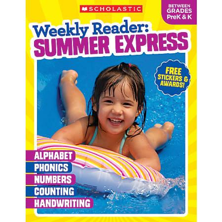 Teacher Resources Weekly Reader Workbook: Summer Express, Grades Pre-K - Kindergarten