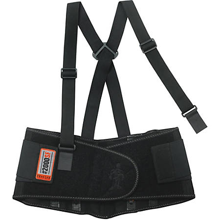 2000SF 2XL Black High-Performance Back Support