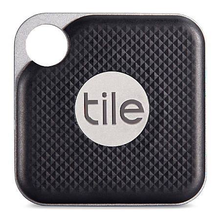 Tile Pro Item Tracker, Black, RT-15001
