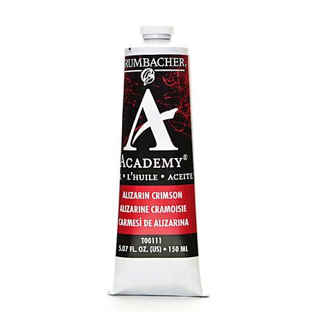 Grumbacher Academy Oil Colors, 5.07 Oz, Alizarin Crimson, Pack Of 2