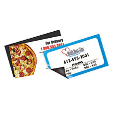 Magnetic Business Cards Uncoated 3 12