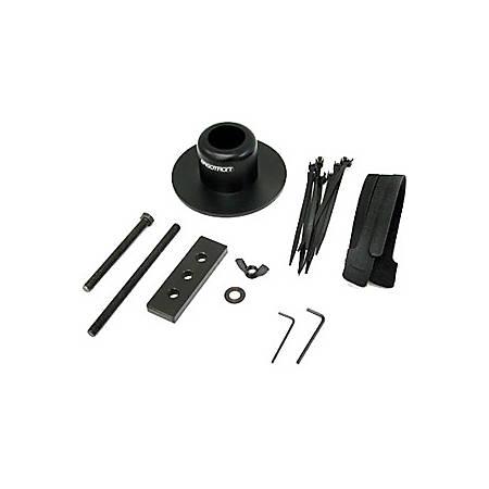Ergotron DS100 Grommet Mount Base - Steel - Black