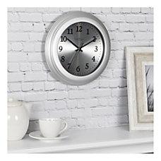 FirsTime Co Sleek Round Wall Clock