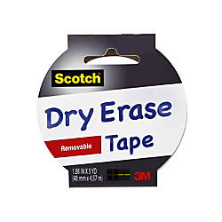 Scotch Dry Erase Tape 188 x