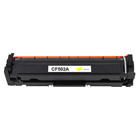 HP 202A (HP CF502A CMA) Remanufactured Yellow Toner Cartridge