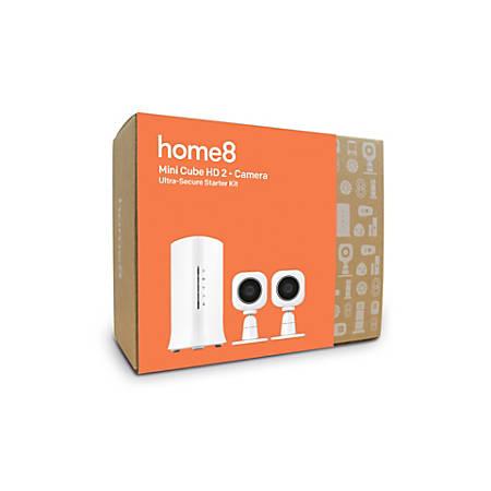 Home8 Mini Cube HD 2-Camera Ultra-Secure Starter Kit, 3V6256