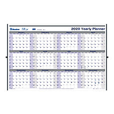 Blueline Net Zero Carbon Erasable Yearly