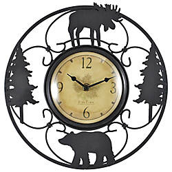 FirsTime Wildlife Wire Wall Clock 11