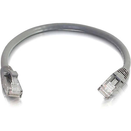 C2G-5ft Cat6 Snagless Unshielded (UTP) Network Patch Cable (25pk) - Gray - Category 6 for Network Device - RJ-45 Male - RJ-45 Male - 5ft - Gray
