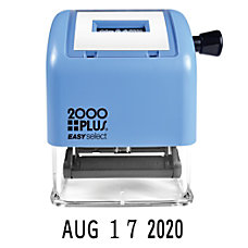 2000 PLUS Easy Select Self Inking