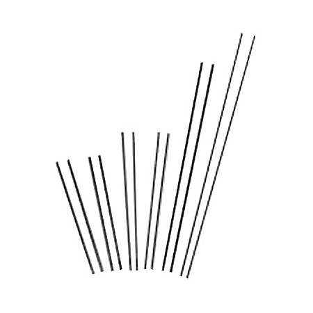 """Arcair® SLICE® Exothermic Uncoated Cutting Rods, 3/8"""" x 36"""", Pack Of 25"""