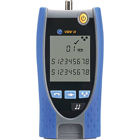 IDEAL VDV II - Voice, Video and Cable Verifier - Wiremap, Voltage Protection, Coaxial Cable Testing, Twisted Pair Cable Testing - Twisted Pair, Coaxial