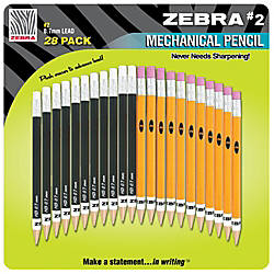 Zebra 2 Mechanical Pencils 07 mm