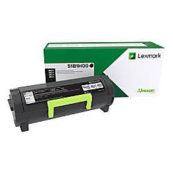 Lexmark 51B1H00 High Yield Return Program