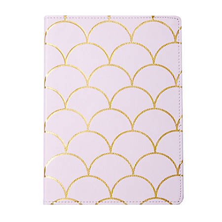 """Sincerely A Collection by C.R. Gibson® Scales Leatherette Journal, 10"""" x 7 1/4"""", 192 Pages, Lavender"""